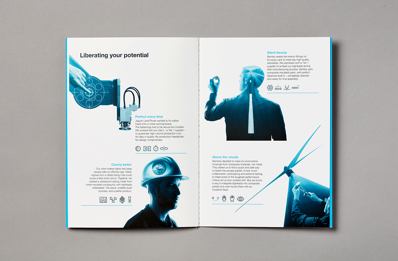 manufacturer corporate brochure
