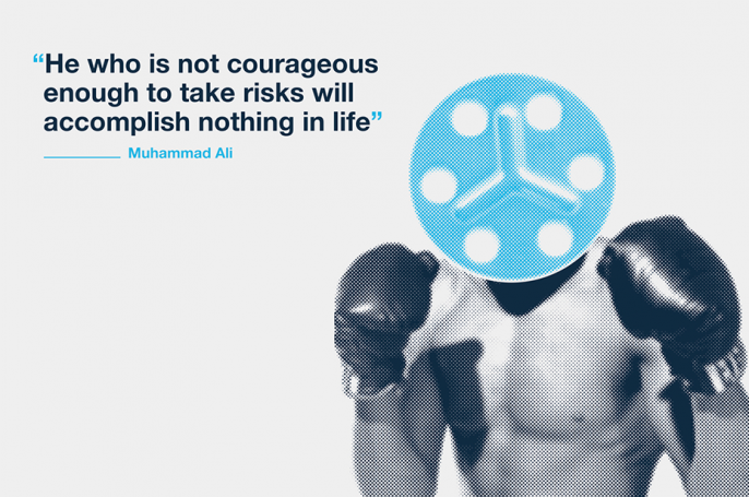 muhammad ali quote for interior graphics