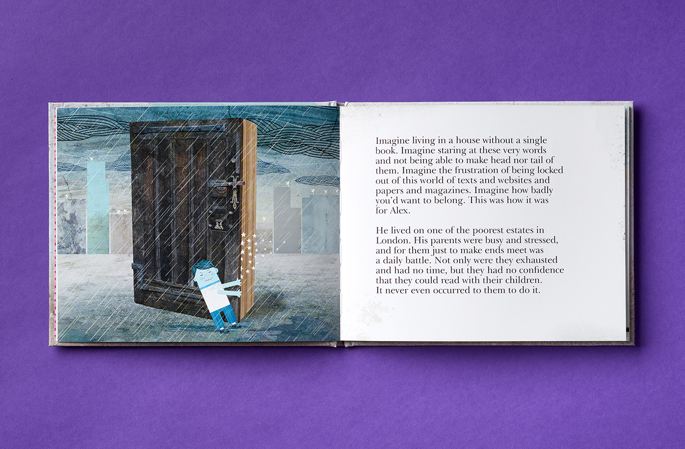 doorstep library illustrative story book