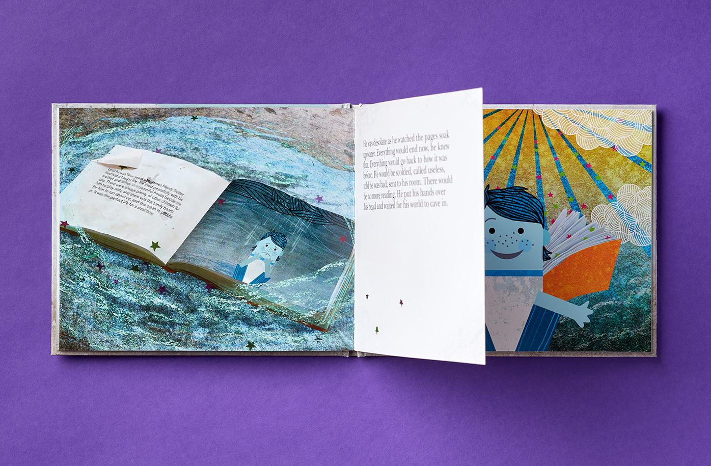 doorstep library illustrative story book