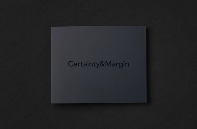 certainty and margin brochure cover