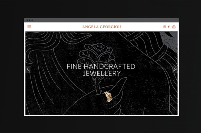 Angela Georgiou Website