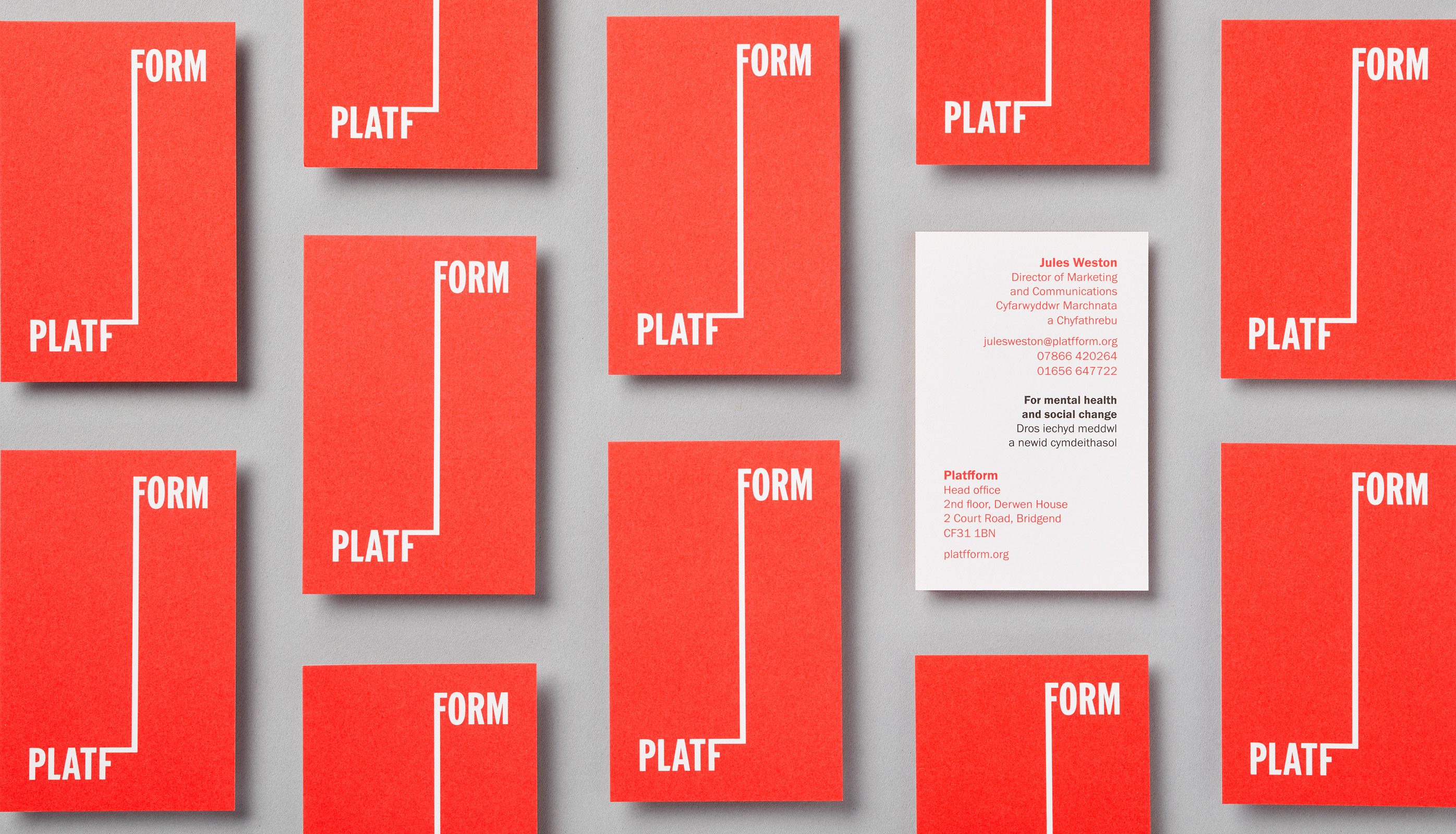 Platfform business cards
